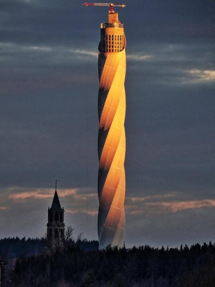 thyssenkrupp Testturm Rottweil. (c) thyssenkrupp