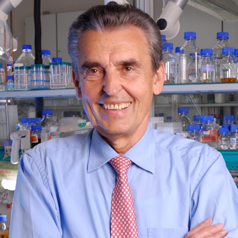 Prof. em. Dr.-Ing. Dr. h.c. mult. Ernst Dieter Gilles (c) Max-Planck-Institut Magdeburg / Bastian Ehl
